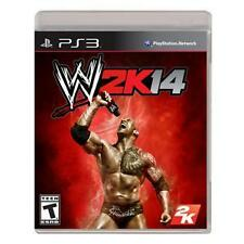 W2K14 Sony PS3 2013 WWE WRESTLEMANIA VIDEO GAME THE ROCK BRAND NEW FREE SHIPPING