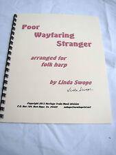 Folk Harp solo - Poor Wayfaring Stranger, Linda Swope composer