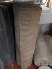 "1M Natural hessian jute sack fabric SOLD / METRE 54"" WIDE upholstery - garden"