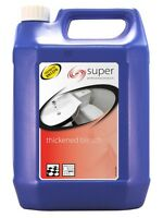 Coventry Chemicals Super Thickened Bleach 5L Clear