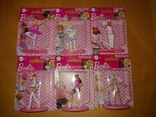 """"""" You Can Be Anything """" Mini Barbie Doll Figurines~*~Set Of Six~* By Mattel"""