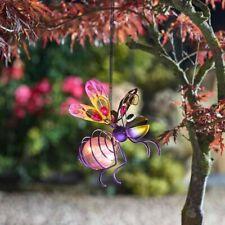 Bouncing Solar Bug Light Great Hanging Solar Powered Bright Fun Garden Decor