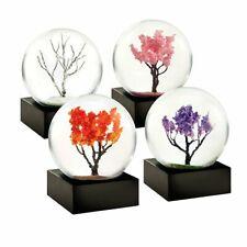 Cool Snow Globes Mini-Schneekugeln Jahreszeiten-Set (4-teilig)