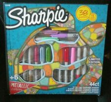Sharpie Permanent Markers Limited Edition 38 Markers + 6 Activity Pages