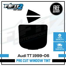 Audi TT 1996 to 2006 Pre Cut Professional Rear Window Tint Kit