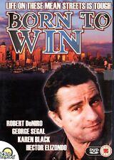 BORN TO WIN ROBERT DENIRO GEORGE SEGAL 23rd CENTURY REGION FREE DVD NEW & SEALED