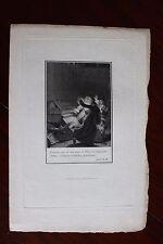 ✒ 1808 Nicolas BOILEAU DESPREAUX gravure sur HOLLANDE pour le LUTRIN Renouard