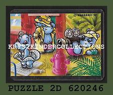 Jouet kinder puzzle 2D Hippo Hollywood star 620246 Allemagne 1997 + étui +BPZ