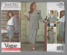 VOGUE pattern 1166 WARDROBE plus sz 18 20 22 jacket dress skirt top FF unused