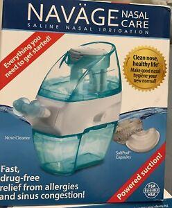 NAVAGE Nasal Care Saline Nasal Irrigation Powered Suction (br14)