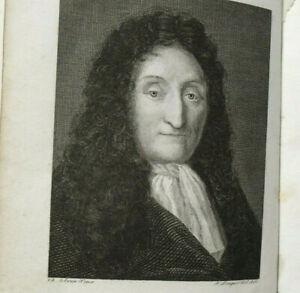 Histoire Vie et Ouvrages de Jean de La Fontaine 1824 Walckenaer 3 gravures