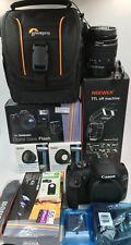 Canon EOS 2000D / Rebel T7 + EF-S 18-55mm III Lens - NEW Opened Box - BUNDLE