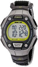 Timex Women's Ironman 30 Lap Digital Quartz 100m Black Fabric Watch TW5K89800