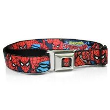 Buckle Down Men's Amazing Spiderman Seatbelt Belt, NEW!