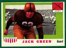 1955 Topps Football All-American #53 JACK GREEN -ARMY