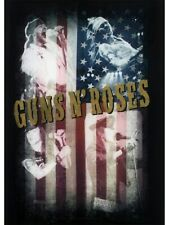 Guns N Roses Flag - Collage Black GNR Textile 77 x 105cm
