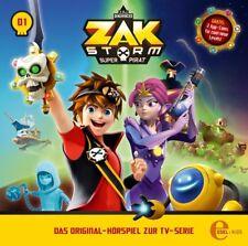 CD * ZAK STORM - CAPTAIN ZAK - FOLGE 1 - HÖRSPIEL ZUR TV-SERIE  # NEU OVP &