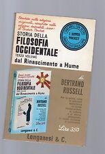 bertrand russel - storia della filosofia occidentale-dal rinasceimento a hume