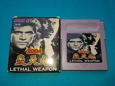 Lethal Weapon Nintendo Game Boy