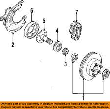 FORD OEM 84-94 Ranger Brake-Front-Shield FOTZ1214A