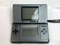Nintendo DS Graphite Black w/touch pen Tested WORK Japan Fedex