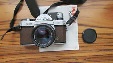 Pentax K1000 SE (Special Edition) RARE BROWN LEATHERETTE Camera Body