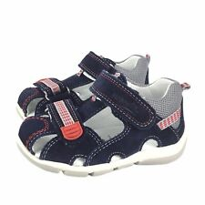 SUPERFIT Schuhe SandalettenTrekking Sandale grau grГјn echt Leder NEU Sonderpreis