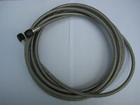 NOS/NITROUS/NX/ZEX/EDELBROCK/HOLLEY/ 14-15 OR 16 FOOT BLACK 4AN S/STEEL LINE-NEW