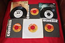 Kenny Loggins~Lot of 6~45rpm- 3 promos-2 with pictures sleeve