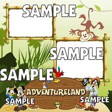 Disney World Magic Kingdom Adventureland Digital Scrapbook Pages Set Kit