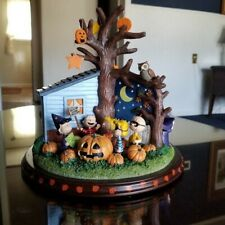 Danbury Mint Peanuts Halloween Carousel Extremely Rare Find Charlie Brown
