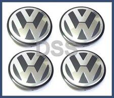 VW Volkswagen Alloy Wheel Center Cap Replacement Set of 4 GENUINE OEM BRAND NEW