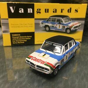 Corgi Vanguards Motorsport 1:43 Triumph Dolomite Sprint Gerry Marshall VA05312