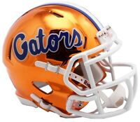 Florida Gators Alternate Chrome NCAA Riddell Speed Mini Helmet