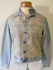 NWT Levis Made & Crafted Womens Boyfriend Denim Trucker Jacket S Heirloom $398