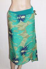 UCW Brand Jade Chiffon Printed Delta No Limits Skirt Size 14-L BNWT #TE47