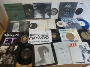 46 rare SINGLES - Punk - Gothic - Wave - Alternative Rock LOT