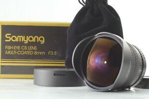 [Mint in Box] Samyang 8mm F3.5 CS Fish Eye Lens For Pentax K From Japan #5555