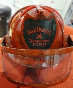OFFICIAL JACK DANIELS TENNESSEE FIRE MANS HELMET / HAT