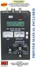 MFJ-259D SWR Antenna Analyzer 100-160 KHz - 280-520KHz - 530KHz-230MHz MFJ-259C