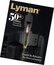 Reloading Manual Lyman 50th Edition Reloading Handbook Hardcover 9816050