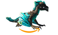 Ark Survival Evolved PC - PVE NEW - CYAN BLACK ROCK DRAKE [clone] - LVL 185