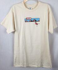 Patagonia S 100% Organic Cotton Clif Bar Mountain Climbing T Shirt Tee Top v1