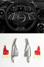 Pinalloy Silver Metal Paddle Shifter Extension for Chevrolet Camaro Corvette C7