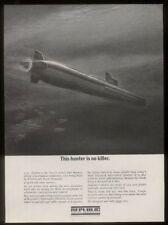 1963 USS Dolphin Navy sub submarine Republic Steel vintage print ad