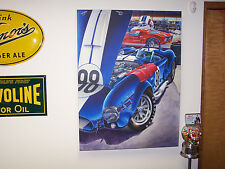 New listing Shelby Cobra 427 R Art 1966 Ford Gt 40 Mustang Gt350 Gt350H Csx 289 Lax 1965 66