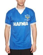 Score Draw Official Retro Everton 1984 FA Cup Final Maglietta da Calcio per Uomo
