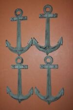 "(4), Collectible Anchor Wall Plaques Bronze Look Cast Iron, 7 1/2"" each, N-42"