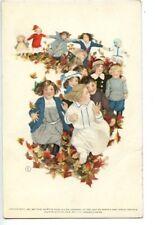 Lot of 3 Vintage Sunday School & Rally Day Postcards Canceled & Uncanceled Kids