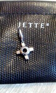 Jette Joop 925 Silber Charm-Anhänger Kreuz f. Armband Kette Bettelarmband TOP